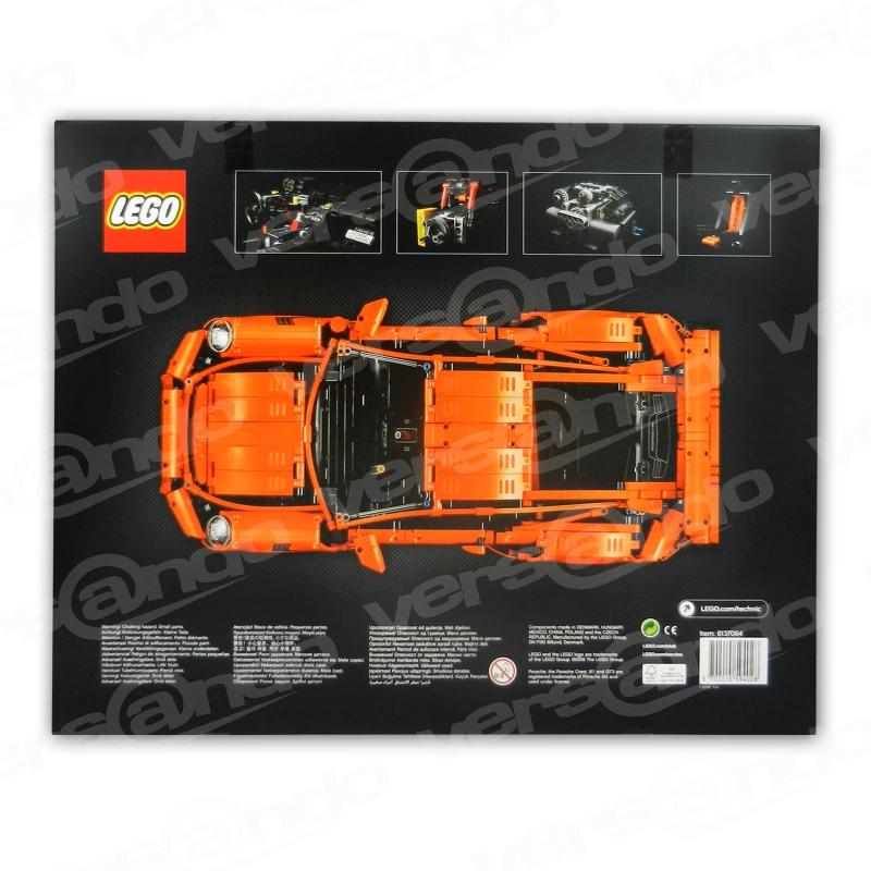 exklusiv lego 42056 technic porsche 911 gt3 rs. Black Bedroom Furniture Sets. Home Design Ideas