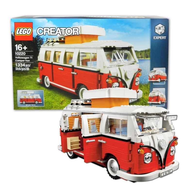 lego 10220 creator volkswagen t1 campingbus. Black Bedroom Furniture Sets. Home Design Ideas