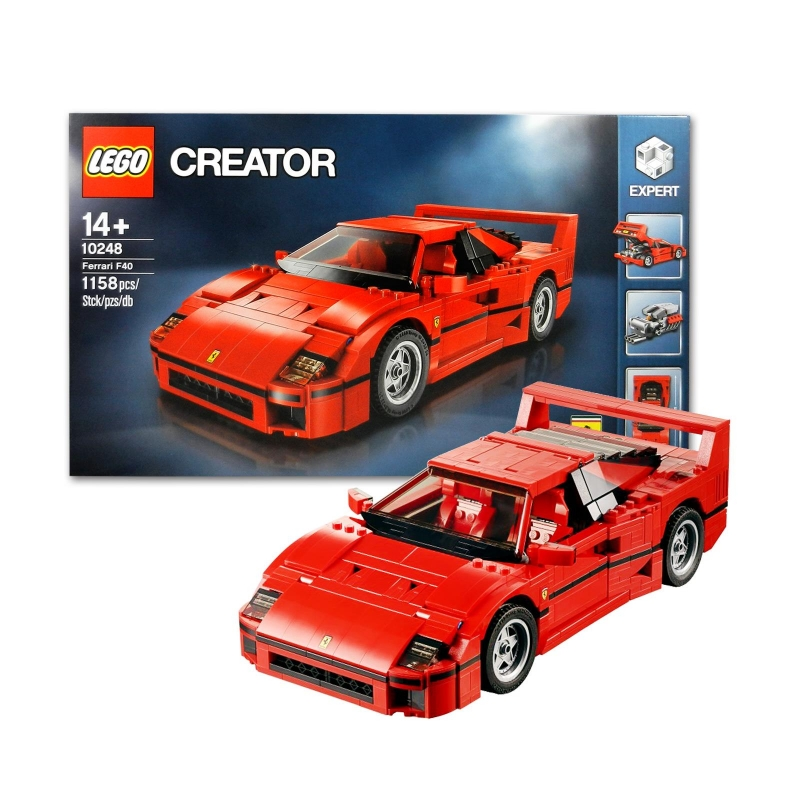 lego 10248 creator ferrari f40. Black Bedroom Furniture Sets. Home Design Ideas