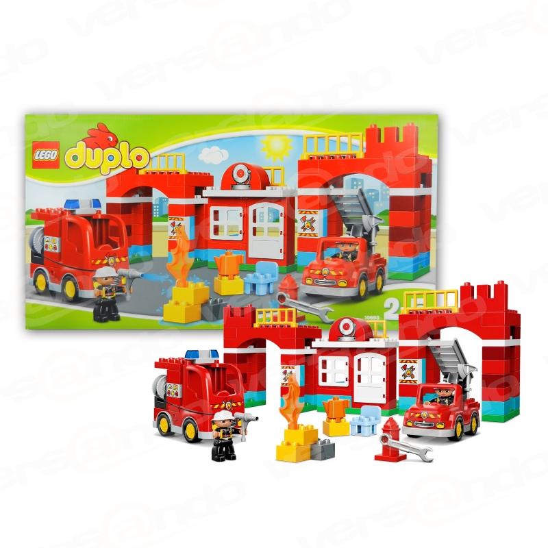 10593 Duplo Feuerwehr-Hauptquartier