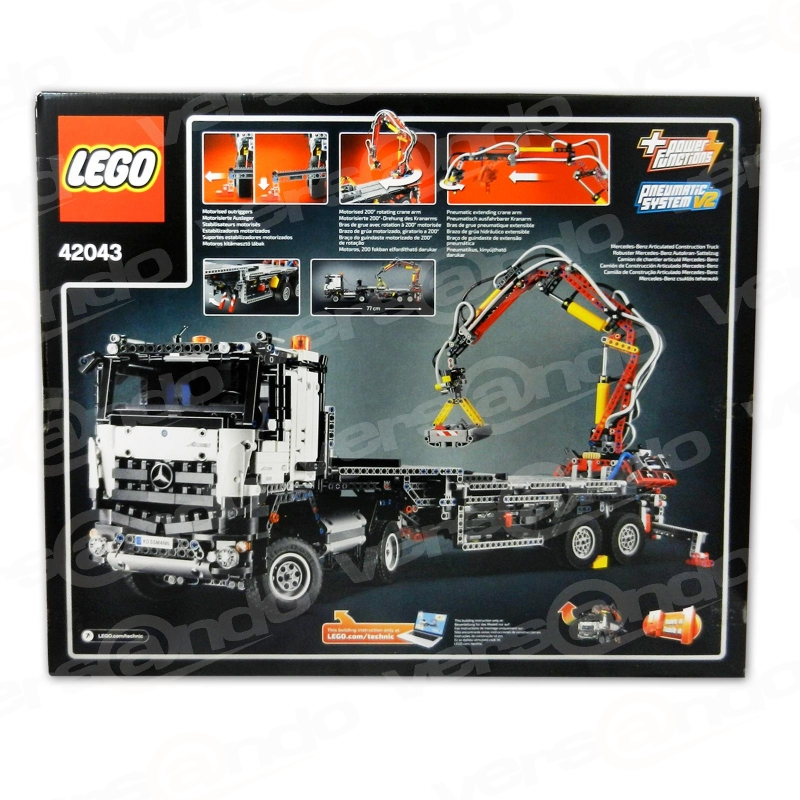 lego 42043 technic mercedes benz arocs 3245. Black Bedroom Furniture Sets. Home Design Ideas