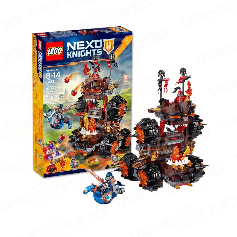 Lego 70321 Nexo Knights General Magmars Schicksalsmobil