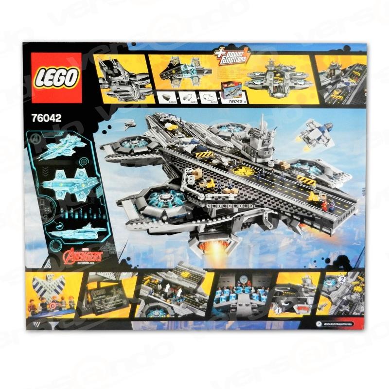 Lego 76042 Super Heroes - Der SHIELD Helicarrier