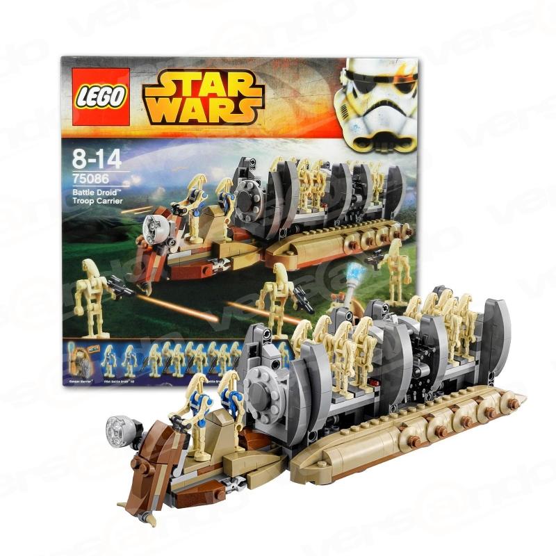 Lego 75086 Star Wars Battle Droid Trooper Carrier