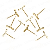 100 versando Brass fasteners Length: 16mm Top?s length:...