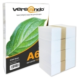 2000 Sheets Copy Paper DIN A6 80 g/m² versando Brand 80 high white