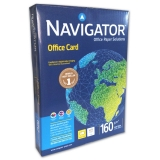 250 Blatt Navigator Office Card  A4 160g/qm, ultraweiß