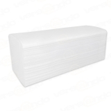 4000 Paper towels 25 x 23 cm, 2-ply, high white, zig-zag folding