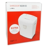 Shredder Ideal shredcat 8220 CC Security Level P-4, 4 x...