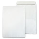 Envelopes DIN B4 without window, white, self-adhesive