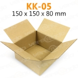 Wellpapp Folding carton 150 x 150 x 80mm Single wall...