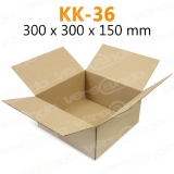 Wellpapp Folding carton 300 x 300 x 150mm Single wall...
