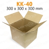 Wellpapp Folding carton 300 x 300 x 300mm Single wall...