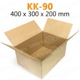 Wellpapp Folding carton 400 x 300 x 200mm Single wall...