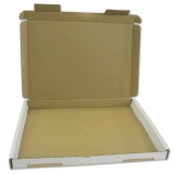 Cardboard Envelope Box white 230mm x 160mm x 20mm (external dimensions) for A5