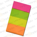 Sticky notes from Papier Alco fix 6831 20 x 50mm, 4 x 50...