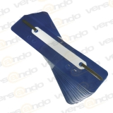 Filing clip 35 x 150 mm blue 25 pieces (fasteners)