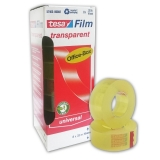 Transparent tape Tesa 57405 Tesafilm 8 rolls 19 mm x 33...