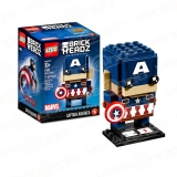 Lego 41589 Brick Headz Captain America