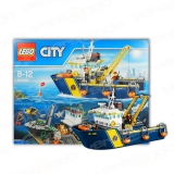 Lego 60095 City Tiefsee-Expeditionsschiff