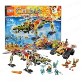 Lego 70227 Legends of Chima König Crominus Rettung