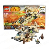 Lego 75084 Star Wars Wookiee Gunship