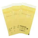 Bubble padded envelopes B2 brown