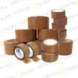Bargain price Packing tape Brown 50 mm wide x 66 m long