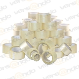 Bargain price Packing tape transparent 50mm wide and 66m...