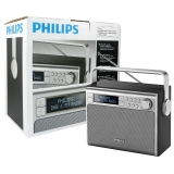 Philips AE5020B tragbares Radio (mit DAB+, Digital UKW,...