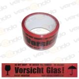 Bargain price Packing tape ?Vorsicht Glas? (Caution...