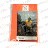 Warnweste Orange EN471 Klasse 2 100% Polyester - seit...