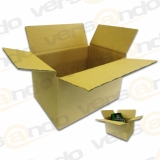 Wellpapp Folding carton 210 x 150 x 130mm Single wall...