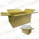 Wellpapp Folding carton 300 x 215 x 140mm Single wall board for DIN A4 KK30