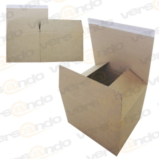 Automatic cardboard box 315mm x 270mm x 240mm Adhesive closure