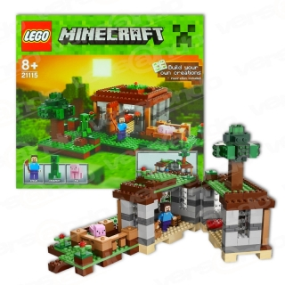 Lego 21115 Minecraft Steves Haus The First Night