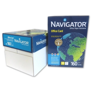 Navigator Office Card, A4 160g/qm, ultraweiß