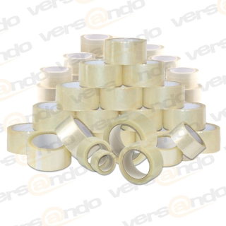 Bargain price Packing tape transparent 50mm wide and 66m long