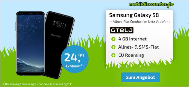 JETZT IM PARTNERANGEBOT: Samsung Galaxy S8